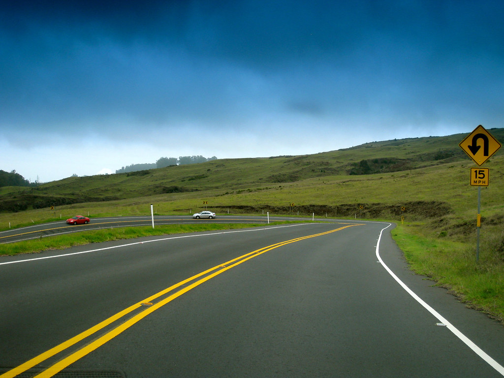 Haleakalā Highway switchbacks