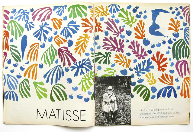 Matisse, from Life Magazine Aug. 1970