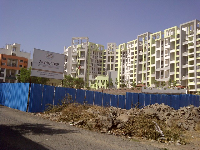 Site of Sneha Corp's Homes, 1 BHK & 2 BHK Flats, behind Shell Petrol Pump, near Meghvarsha, at Warje, Pune 411052 - 2