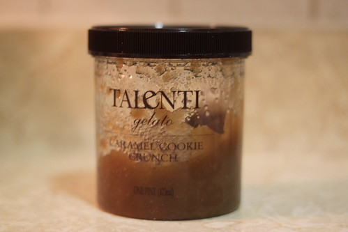 Recycling Talenti container :)