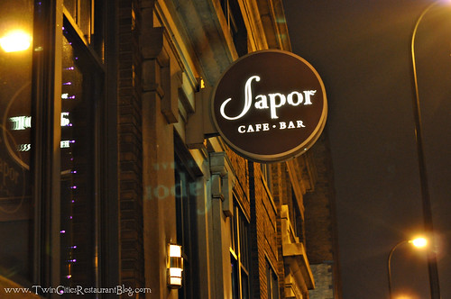 Sapor Cafe and Bar ~ MInneapolis, MN