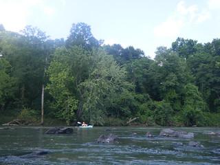 Broad River Paddling May 26, 2012 4-57 PM