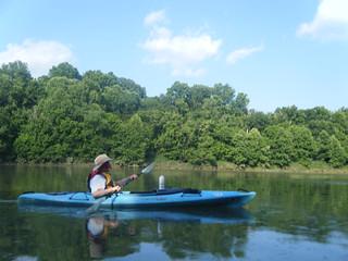 Broad River Paddling May 26, 2012 6-07 PM