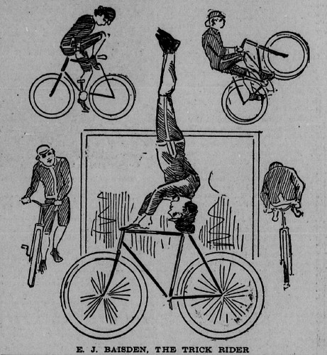 Trick Rider, Decoration Day 1897