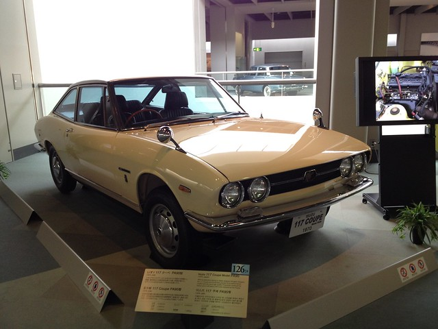 Isuzu 117 Coupe Model PA90, 1970