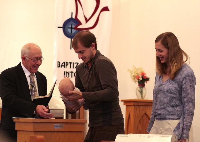 Zechariah Ranger's Baptism