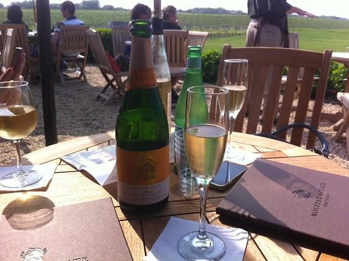 Wolffer Estate Vineyard wine tasting