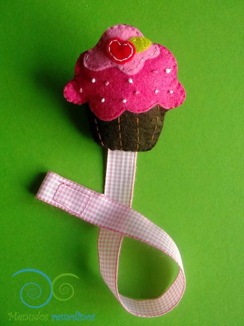 Chupetero cupcake