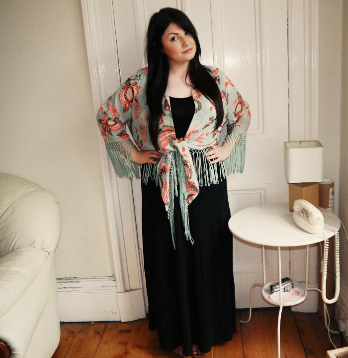 glamorous floral kimono 3