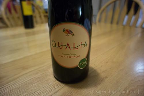 2009 Qualia Syrah Grenache Blend