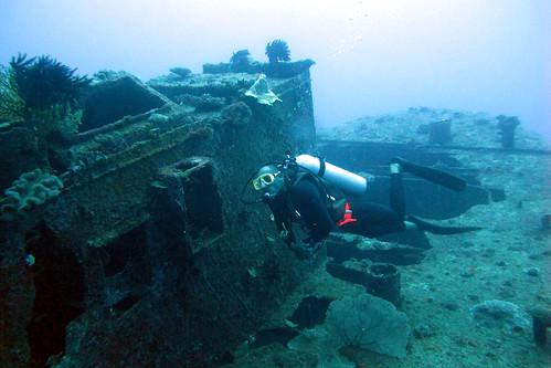 Vanuatu wreck diving: Semle Federsen