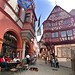 Colorful medieval town Bernkastel-Kues in the Middle Moselle