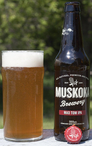 Muskoka Brewery's Mad Tom IPA by Cody La Bière