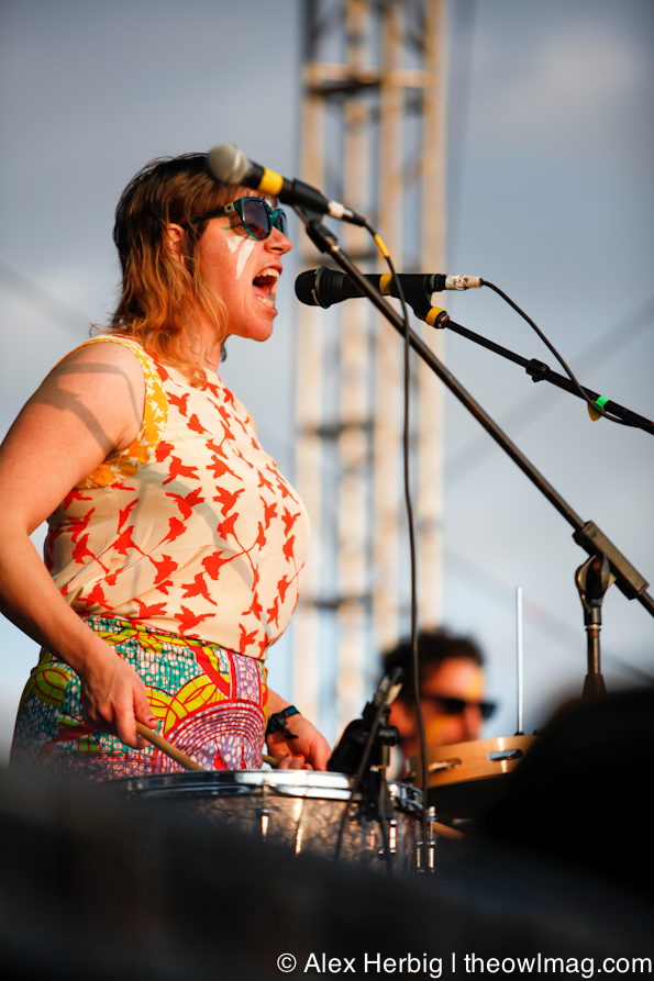 tUnE-yArDs @ Sasquatch Music Festival 2012