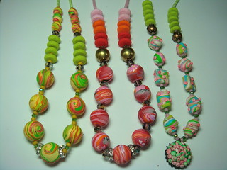 big bead necklaces