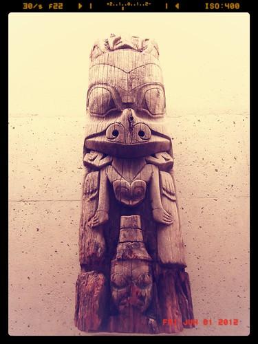 Haida Crest Figure