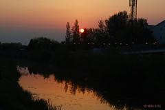 Sunrise on the Royal Canal at Louise Bridge
