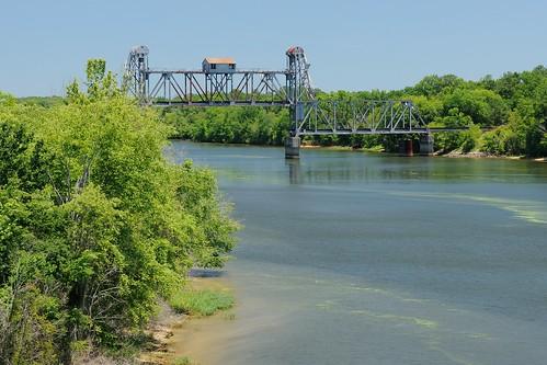 Cottonton, AL-Omaha, GA RR bridge over the Chattahoochee River