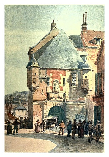 001-Honfleur entrada al puerto-Sketches on the old road through France to Florence-1905- Alexander Henry Hallam Murray