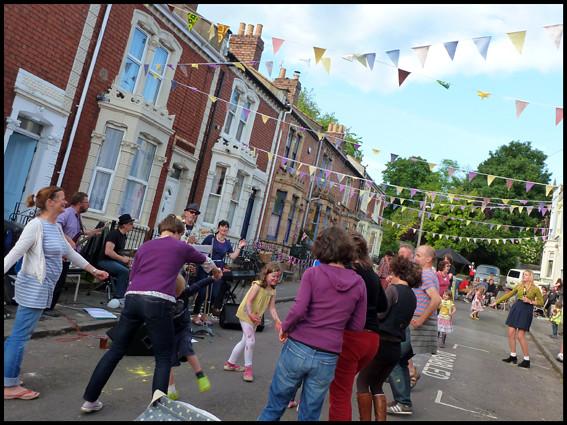 Fraser Street Street Party Bristol