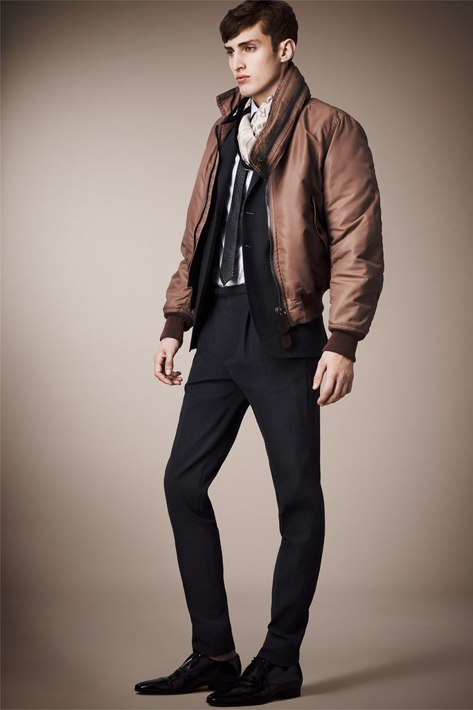 Charlie France0263_Burberry Prorsum's Pre-​​Spring 2013 Collection(Homme Model)