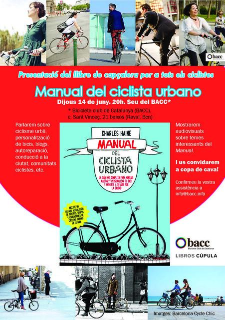 presentació llibre Manual Ciclista urbano