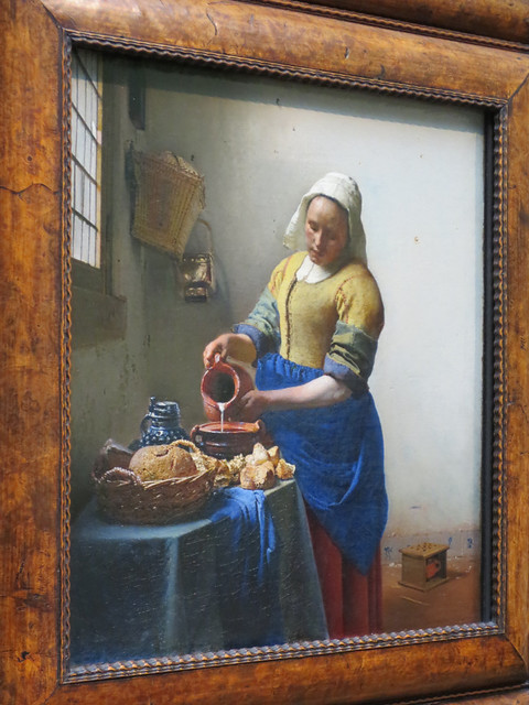 vermeer, the kitchen maid   rijksmuseum, amsterdam