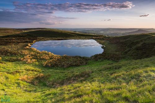 sunset england unitedkingdom peakdistrict peaks staffordshire longnor hencloud blakemere