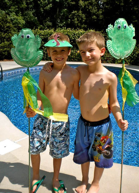 Frog Birthday Party Flickr Photo Sharing