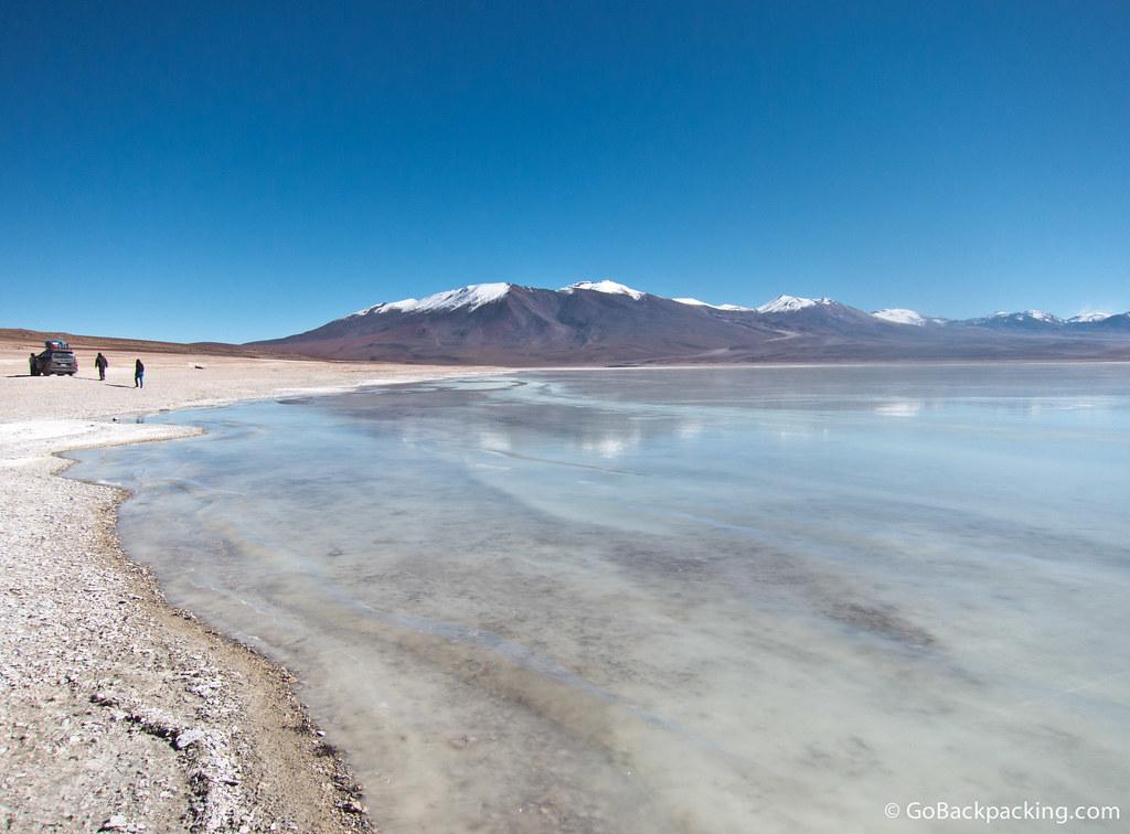 Laguna Blanca (4,350m) owes its white hue to the mineral Borax
