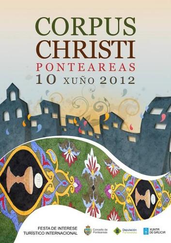 Ponteareas 2012 - Corpus - cartel