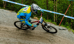 road bicycle(0.0), bmx bike(0.0), race(0.0), freestyle bmx(0.0), cyclo-cross bicycle(0.0), cyclo-cross(0.0), downhill(0.0), racing(1.0), bicycle racing(1.0), mountain bike(1.0), bicycle motocross(1.0), vehicle(1.0), mountain bike racing(1.0), sports(1.0), freeride(1.0), sports equipment(1.0), downhill mountain biking(1.0), cycle sport(1.0), road cycling(1.0), extreme sport(1.0), cross-country cycling(1.0), bmx racing(1.0), cycling(1.0), land vehicle(1.0), mountain biking(1.0), bicycle(1.0),