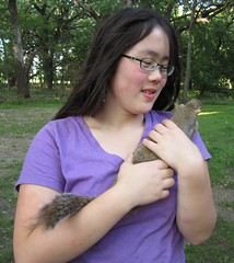 Holding the Squirrel