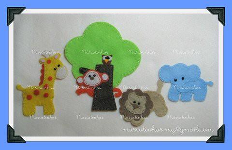 Mascotinhos 1 by Mascotinhos em Feltro