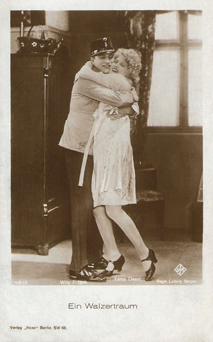Xenia Desni and Willy Fritsch in Ein Walzertraum (1925)