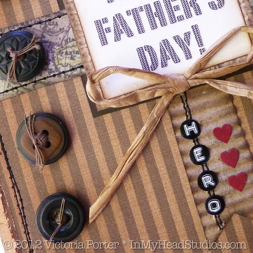 Father's Day Card :: Bow Detail