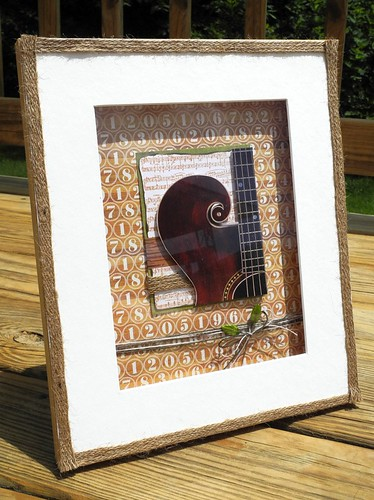 Guitar Wall Hanging