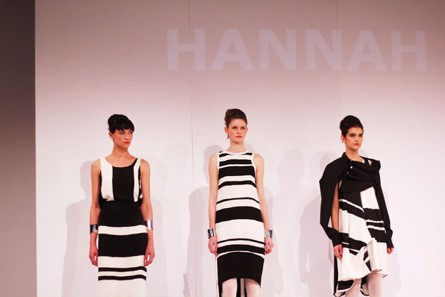 Hannah Sharp Graduate Fashion Week 2012