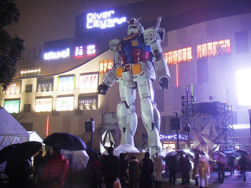 TOKYO GUNDAM project 2014 : GUNDAM projection mapping
