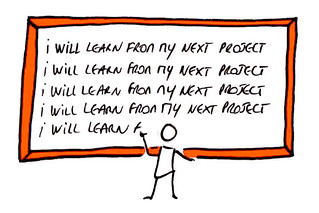 Project lessons learnt