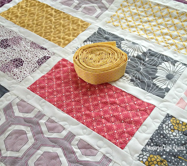 Baby cakes quilt and binding