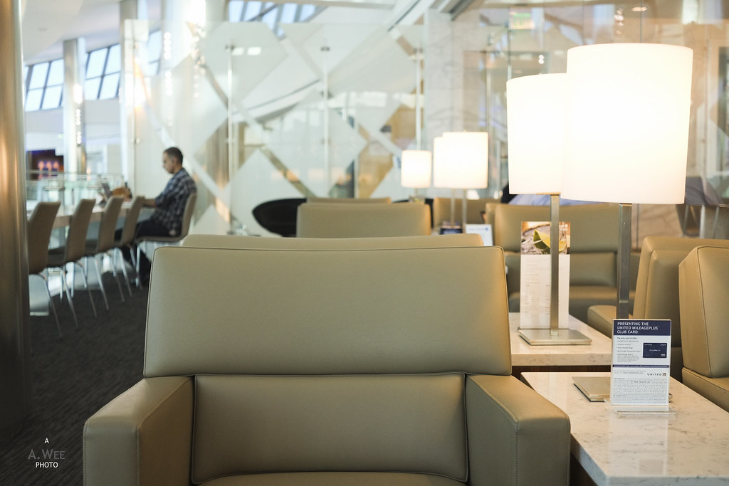 Seats in the United Club