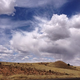 """Lonesome Panorama 1.0"" #lonesomevalley, #prescottvalley, #arizona, #clouds, #sky, #аризона, #облака, #небо, #paulewing, #prairie, #прерия, #zvuchno"