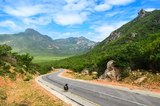 Mountains along the Moçamedes railway