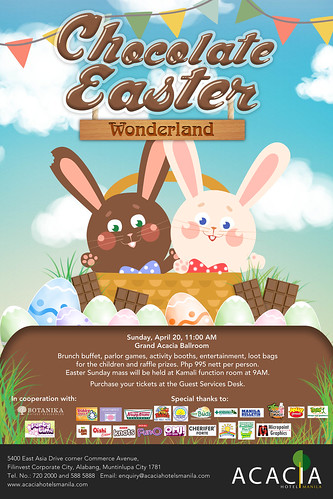CHOCOLATE EASTER WONDERLAND POSTER (3)