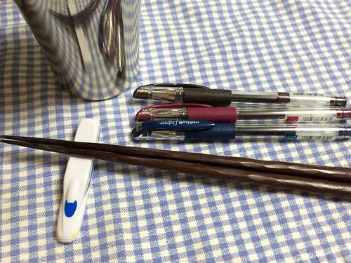 新幹線に似ているボールペン