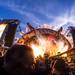 Mashup foto AC/DC Festivalpark Werchter