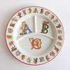 "Vintage Tiffany & Co ""Alphabet Bears"" Divided Child's Plate"
