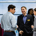 CME Group Foundation Business Analytics Lab Reception