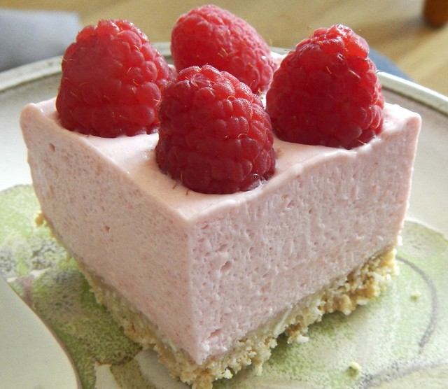 Raspberry Mousse Pie 27